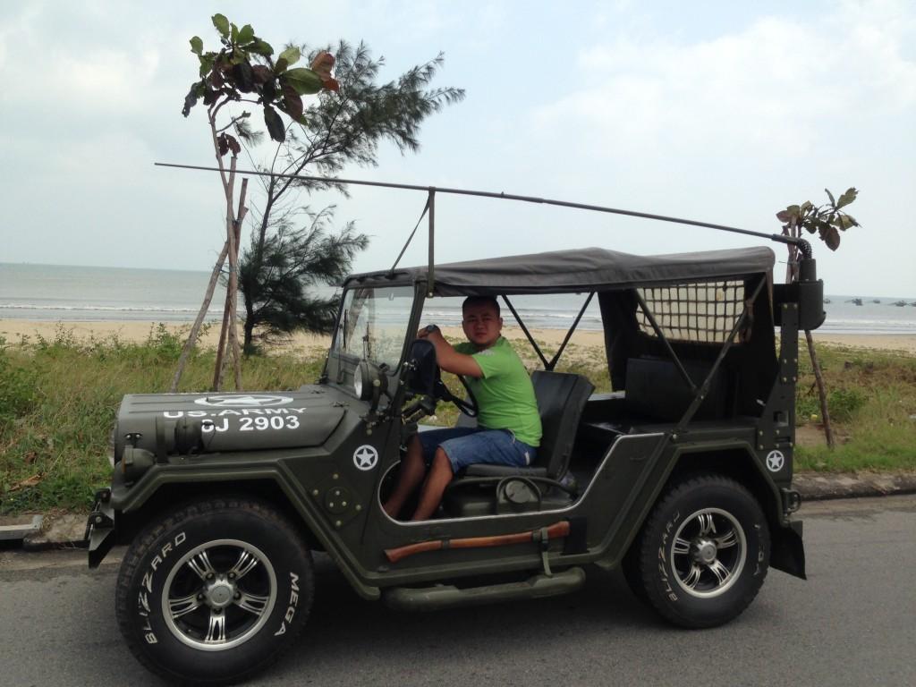 Tour xe Jeep Da Nang