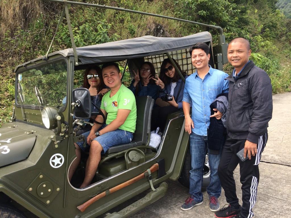 Tour Jeep Da Nang